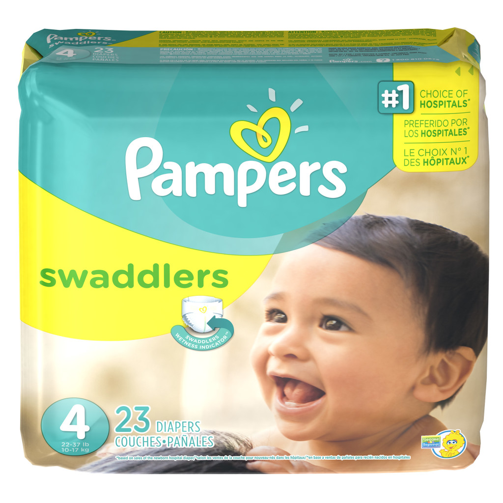 Pampers Swaddlers Packaging