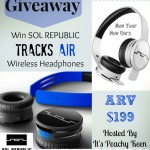 SOL Republic Tracks Air Wireless Headphones #Giveaway