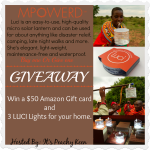 #LuciLights by MPowered and $50 Gift Card #Giveaway