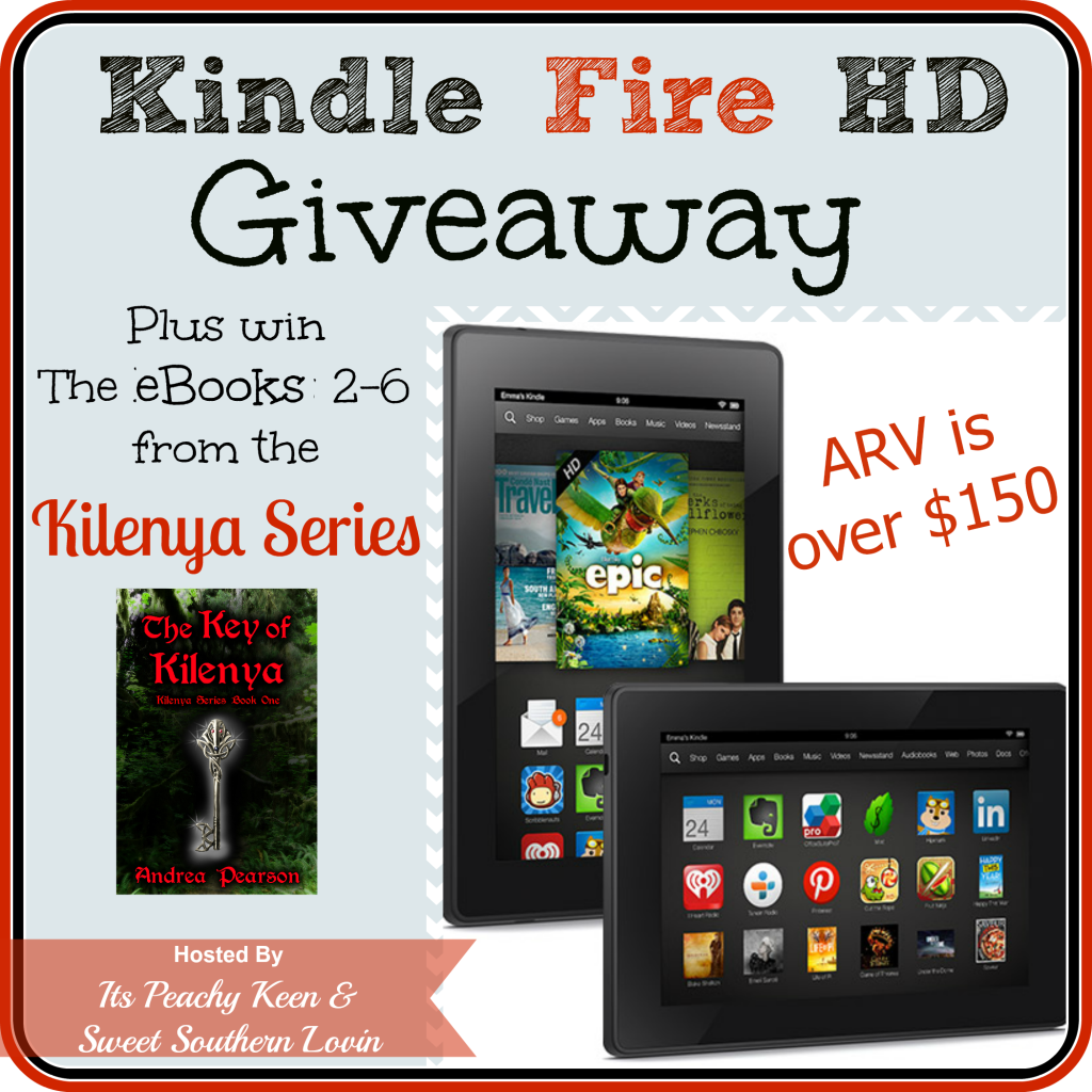 Enter to #win a Kindle Fire HD. Ends 1/17
