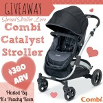 "#CombiLove Catalyst #Giveaway ""Spread Stroller Love"""