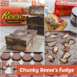 Chunky Reese's Fudge *Simple Recipe*