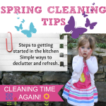 Spring Cleaning Tips – Simple Ways To Get Started In The Kitchen
