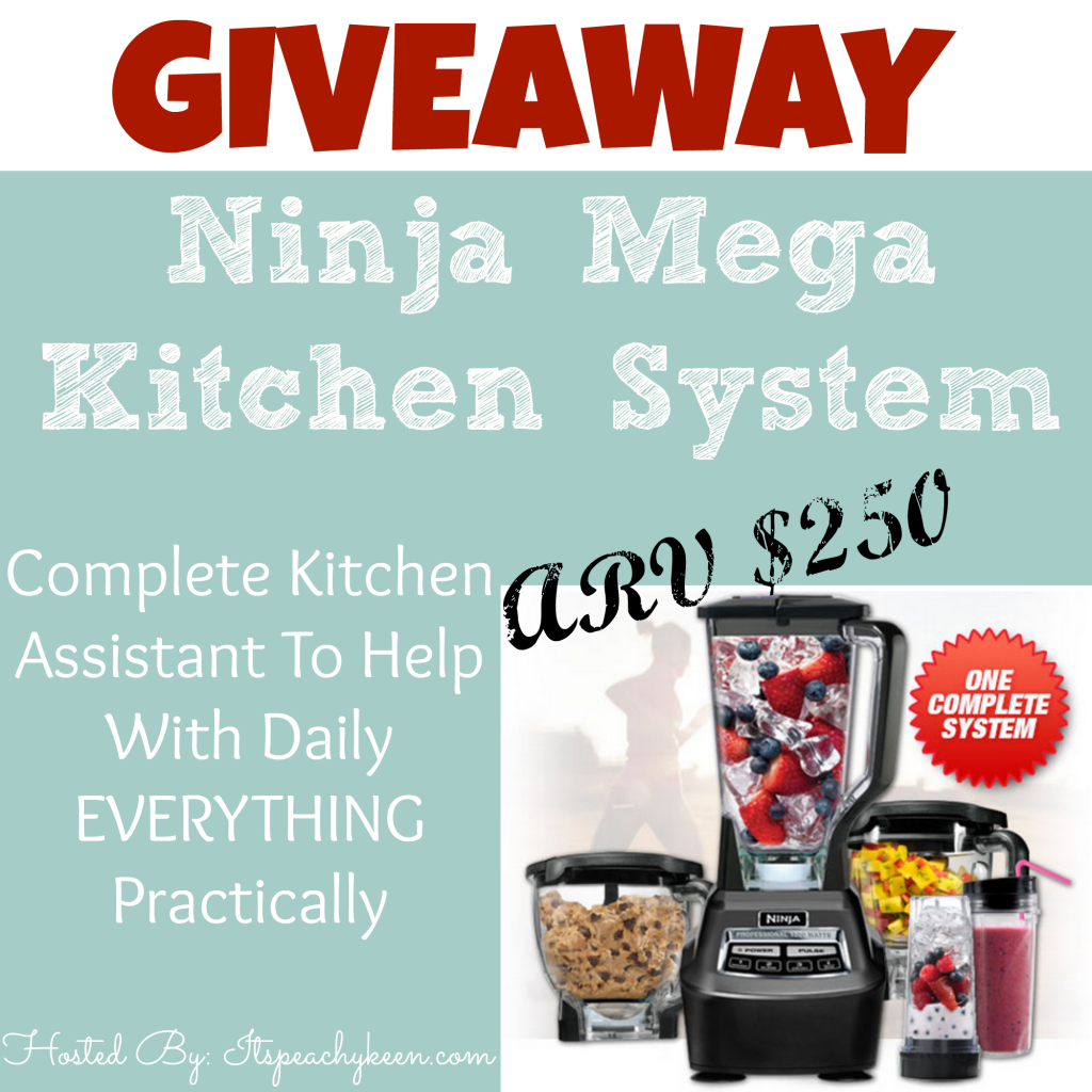 Enter to win a Ninja Mega Kitchen System. Ends 2/27.