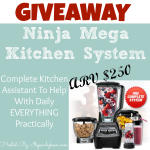 Ninja Mega Kitchen System #Giveaway CLOSED