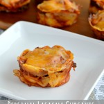 Personal Lasagna Cupcakes With A Chili Kick