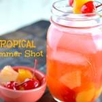 Tropical Summer Shot Drink