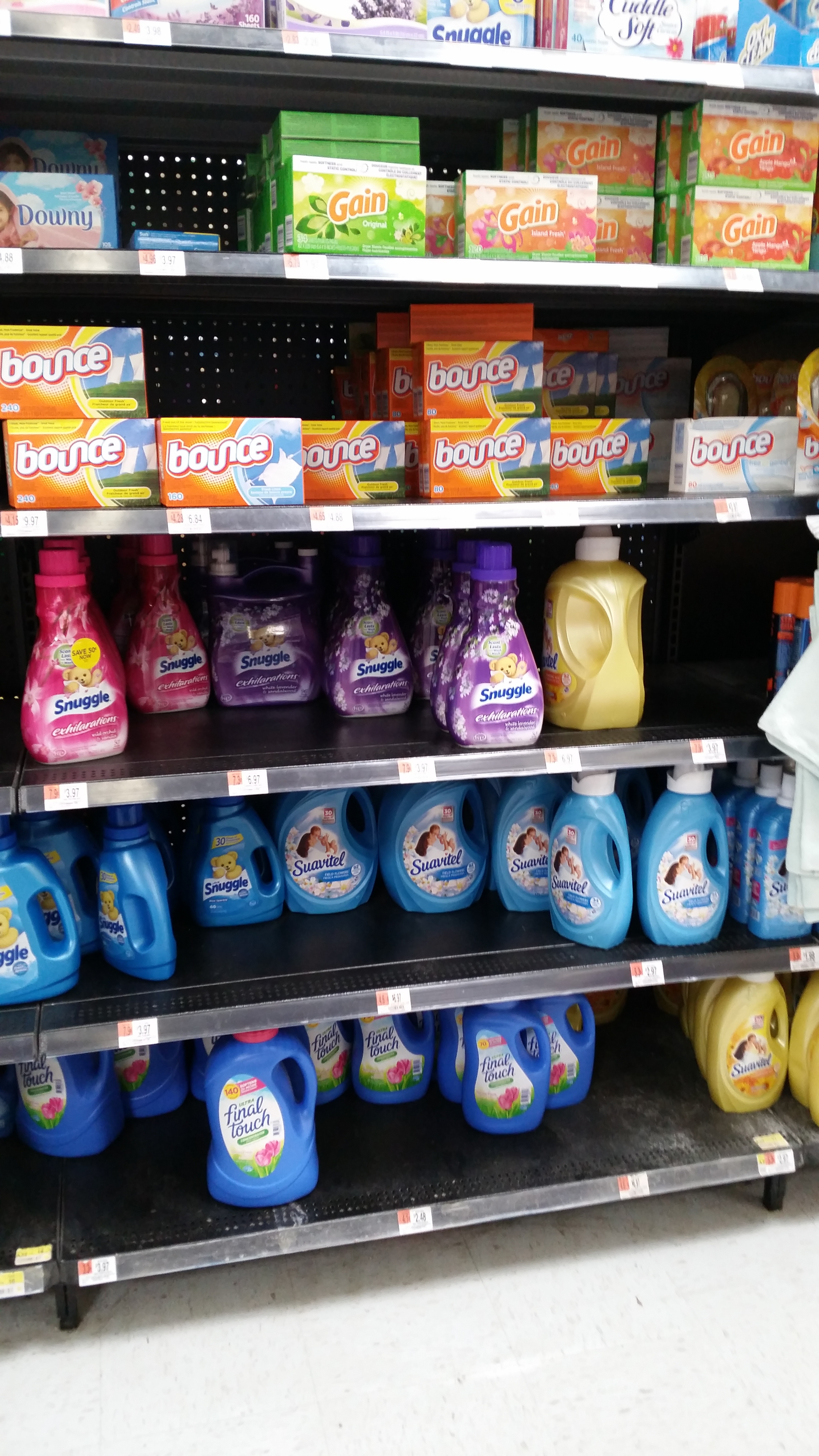 Who Uses Fabric Softener..Really? - It\'s Peachy Keen