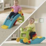 2 in 1 Toddler Slide To Rock