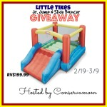 Little Tikes Jump And Slide Bouncer #Giveaway