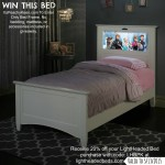 LightHeaded Beds #Giveaway