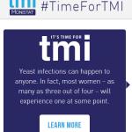 Let's Talk TMI #TimeForTMI