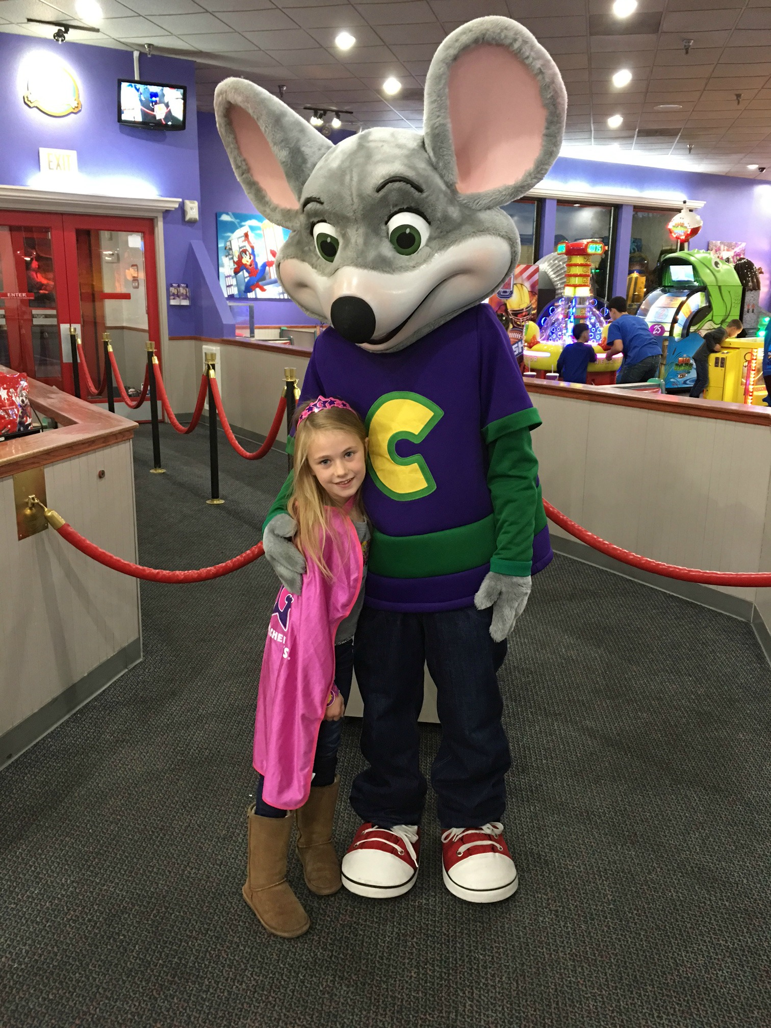 best in chuck e cheese