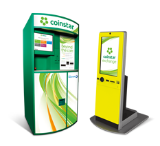 Coinstar Exchange kiosk To Save The Day - It's Peachy Keen