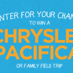 Field Trip With Chrysler Pacifica Win it! #Pacifikids #FieldTrip #Ad