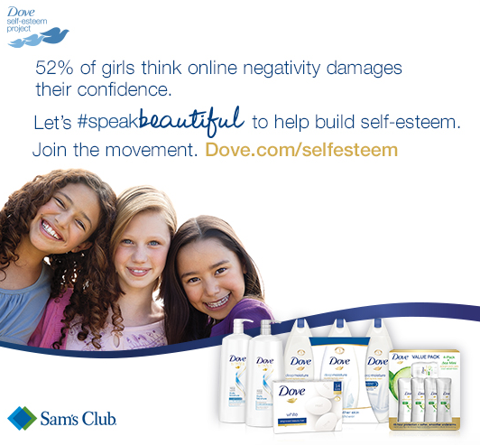 Dove #Speakbeautiful Project #Ad - It's Peachy Keen
