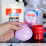 Easy 2 Ingredient Glitter Slime
