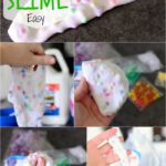 POM POM Slime (2 ingredients) EASY