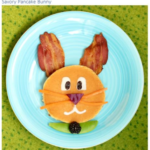 3 Fun Ways to Make Easter Bunny Pancakes