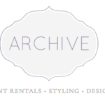 Archive Rentals Wedding Needs