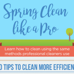 How to Be Productive When Spring-Cleaning